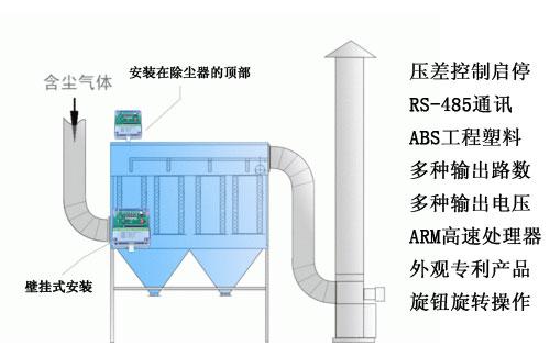脉冲控制仪在小型除尘器的应用